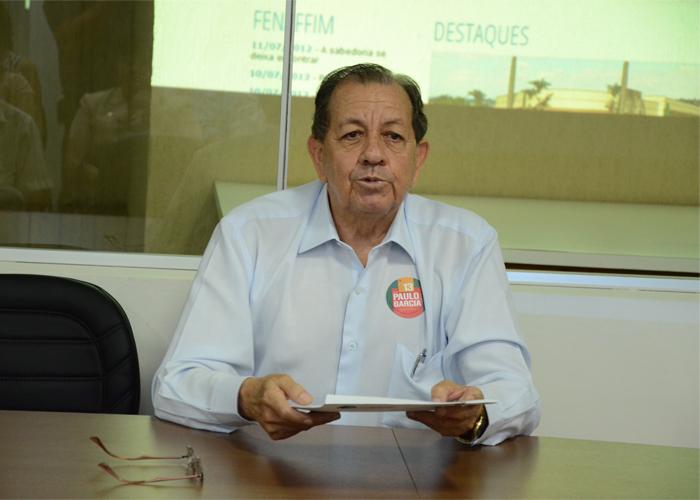 Presidente Elísio Gonzaga da Silva.