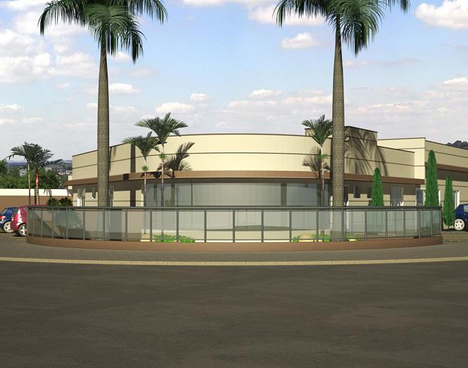 Fachada da nova sede Affim Goiânia