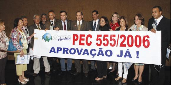 Affim agita Brasília pela aprovação já da PEC 555