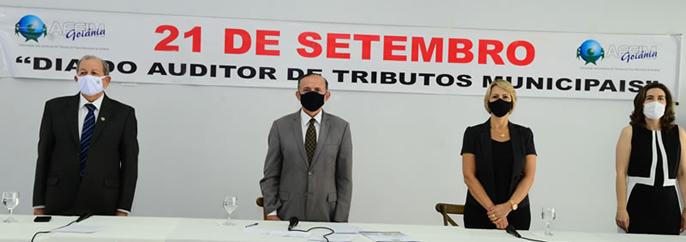 Câmara Municipal de Goiânia realiza sessão especial em homenagem ao Dia do Auditor de Tributos do município!