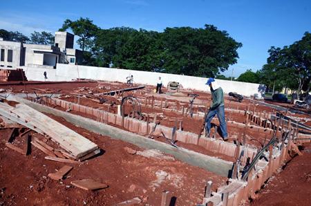 A mais nova sede da Affim Goiânia começa a ser construída.